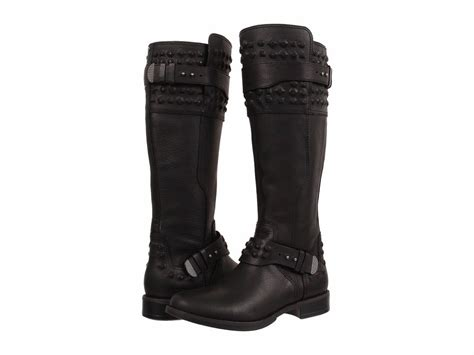 ugg australia s dayle stud black boots size 6