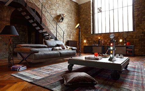 industrial style loft how to use industrial style in a spacious loft home and