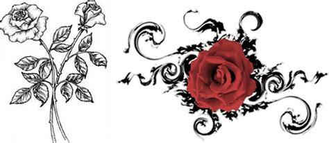 simple rose tattoo design trend tattoo styles january 2013