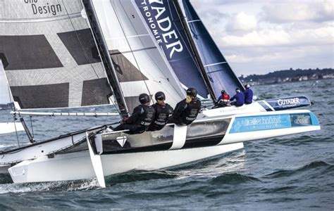 trimaran diam 24 a multihull for the tour voile the diam 24 yachting world