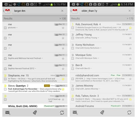 Gmail Search Emails By Date Gmail Now Lets You Search For Lost Emails By Size