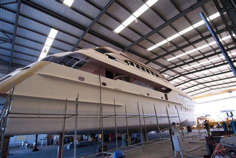 catamaran zenith incat crowther catamaran under construction at fabre