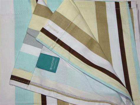 grey and tan shower curtain target home aqua tan cream gray brown stripe fabric shower