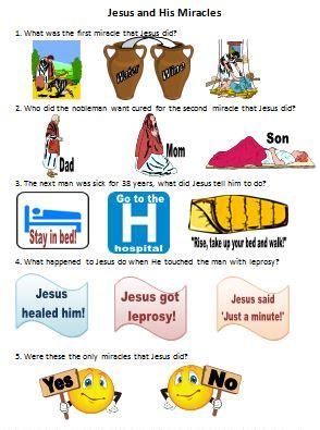 The Wedding At Cana Ks1 Worksheet by Bible For Of Jesus Worksheets