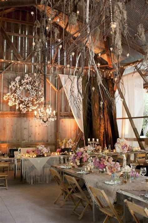 Rustic Table Decorations For A Wedding   99 Wedding Ideas