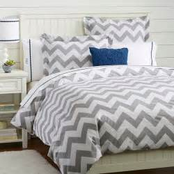 pottery barn chevron duvet cover and sham decor