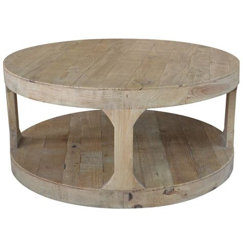 recycled timber frans coffee table temple webster