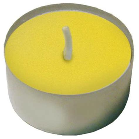lumabase citronella tealight candles box of 125