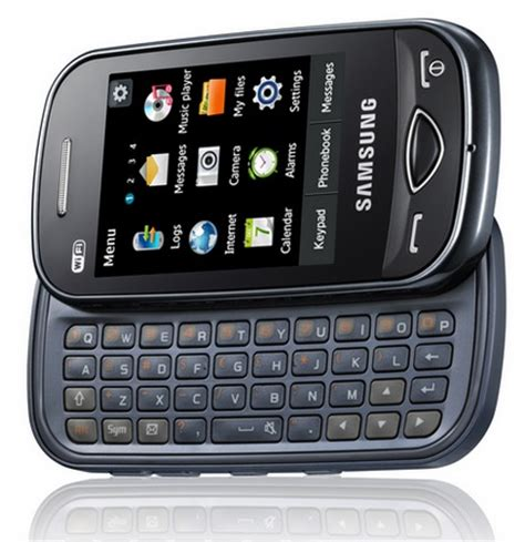 Samsung Qwerty New Samsung Ch T 322 Mobile Price With Specification