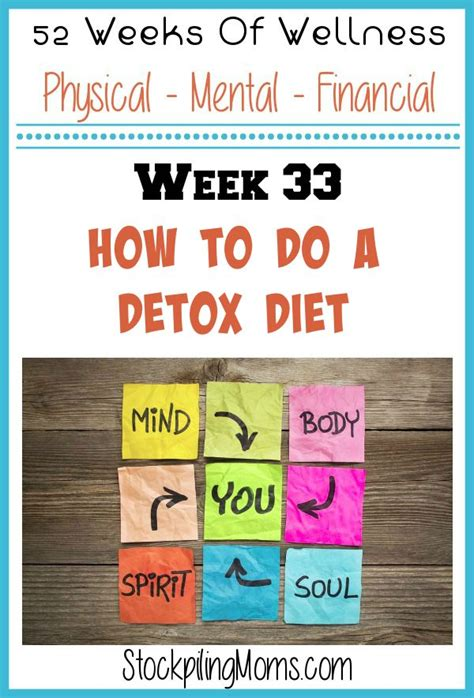 Where To Go For A Week To Detox Marijuana by How To Do Detox Diet Gluten Free Meal Plan