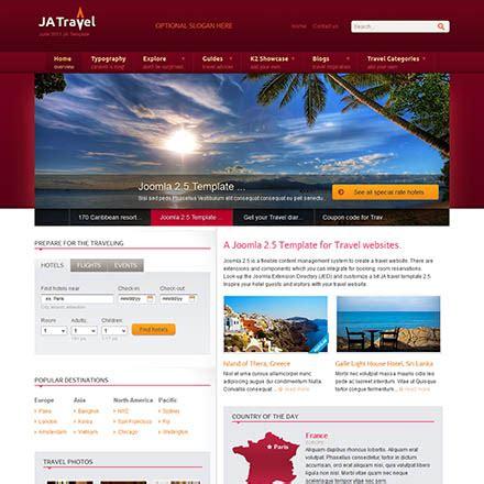 joomlart theme joomlart travel v2 5 6 travel template for joomla
