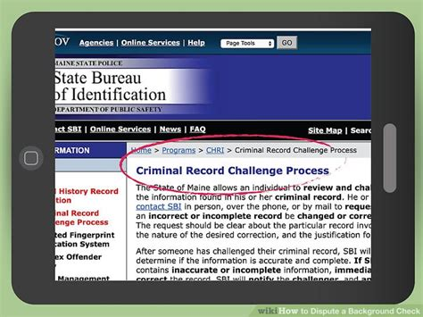 Dispute Criminal Record How To Dispute A Background Check With Pictures Wikihow
