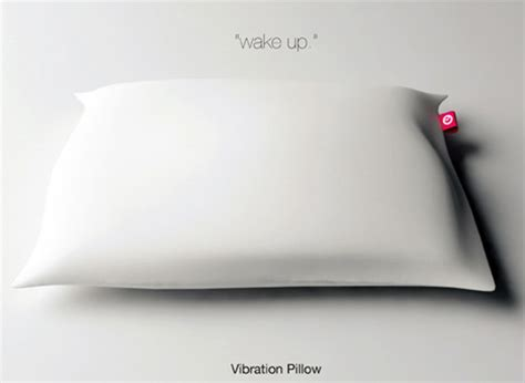 Pillow Alarm Clock by Shake And Pillow Alarm Vibrates Your Sleepy