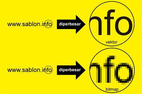 format gambar bitmap dan vektor apa perbedaan gambar vektor dan bitmap informasi sablon