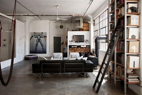 Industrie Look Le by Loft De Ville 224 New York Au Design Int 233 Rieur Inspir 233 Par