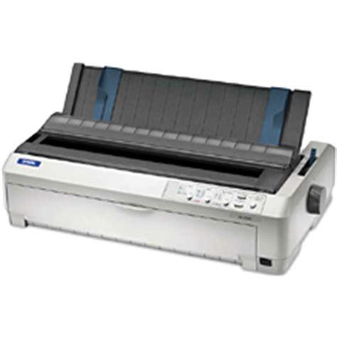 Printer Epson Fx 2190 superwarehouse epson fx 2190 dot matrix printer epson c11c526001