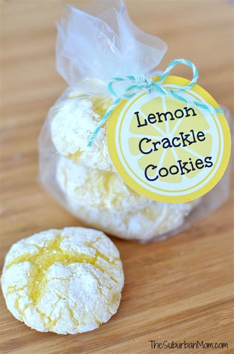 printable lemon recipes easy lemon crackle cookies recipe a well printable