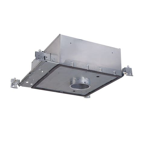 Recessed Lighting Insulated Ceiling Halo H36 3 In Aluminum Recessed Lighting Housing For New Construction Shallow Ceiling