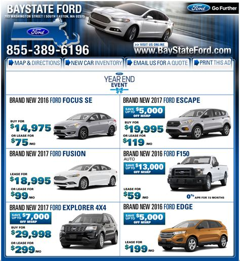 bay state ford boston ford dealers baystate ford in stoughton ma
