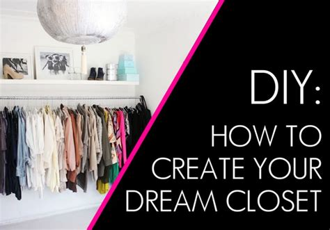 Design Your Dream Space | create your dream closet with these 20 easy tips closet