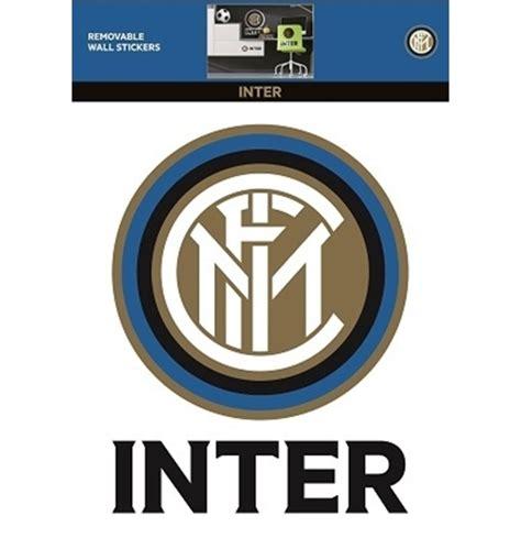 Stiker Set Intermilan fc inter milan wall sticker logo for only c 22 54 at merchandisingplaza ca