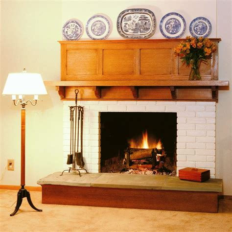 Arts And Crafts Fireplace Mantel by Arts And Crafts Fireplace Design Intended For Home This