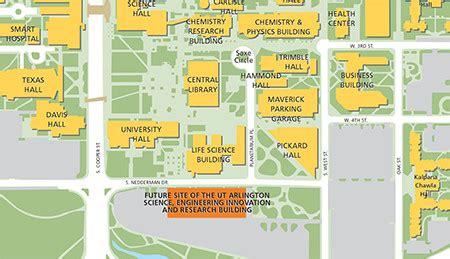 university of texas at arlington map new uta seir building approved prasad ralli