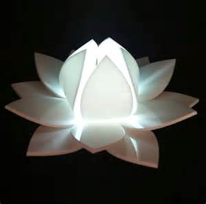 lotus flower colour changing led with sensor by kirsty