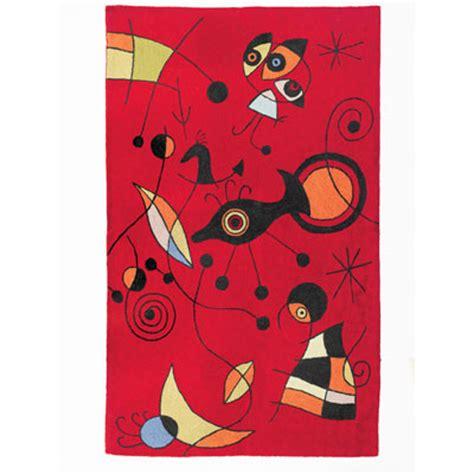 10 X 12 Miro Rug by Zaida Handmade Kandinsky Style Miro Rug