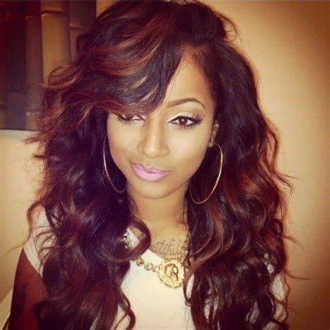 picture of black hairstyles sawen in best 25 sew in hairstyles ideas on pinterest