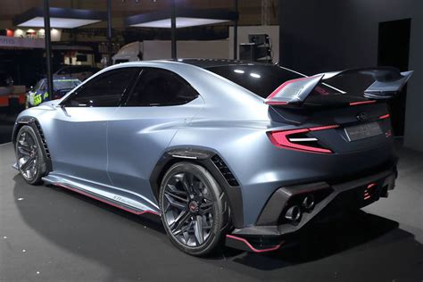 Sti Subaru 2019 by Subaru Unveils 2019 Wrx Sti Maybe Motoring Au