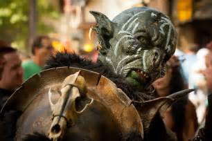 Orc cosplay the work of the red dragon lord mordor the land of