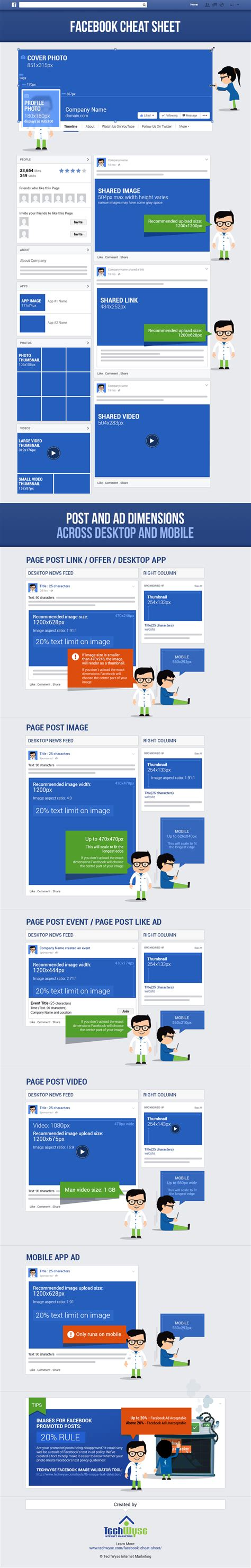 design home cheats facebook facebook cheat sheet image size and dimensions