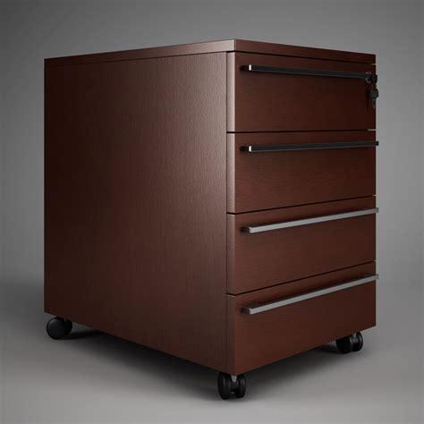 Kitchen Drawers Vs Cabinets Office Drawer Cabinet 02 3d Model Max Obj Fbx C4d Cgtrader