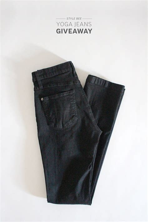 Jeans Giveaway - yoga jeans giveaway style bee