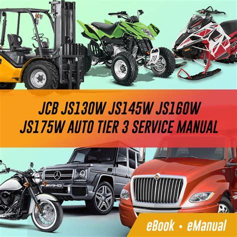 Jcb Js Models Service Repair Workshop Manuals