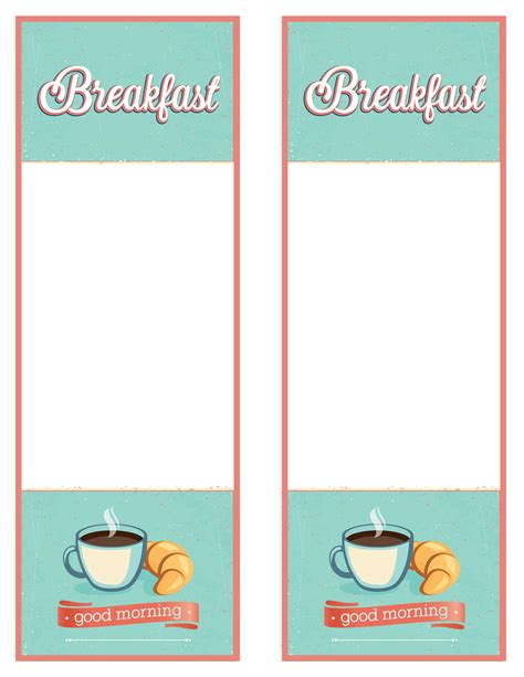 Consort Display Group Podia Template Breakfast Menu Free Printable Breakfast Menu Templates