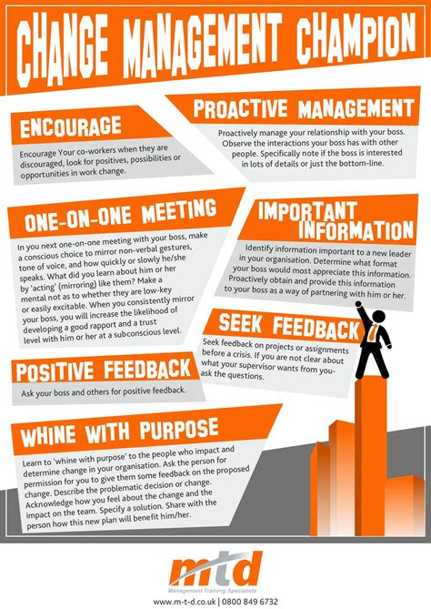 7 top tips for managing information change management chion infographic
