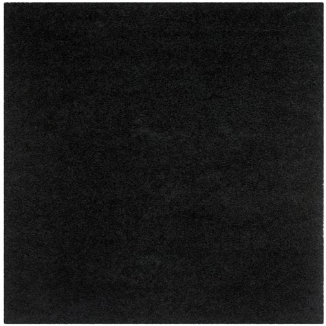 5 ft area rugs safavieh monterey shag black 5 ft x 5 ft square area rug sg851b 5sq the home depot