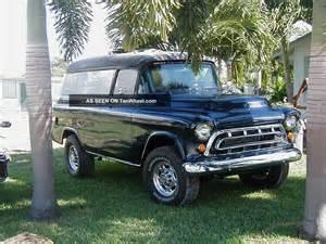 Chevrolet Panel Truck 1955 Chevrolet Panel Truck