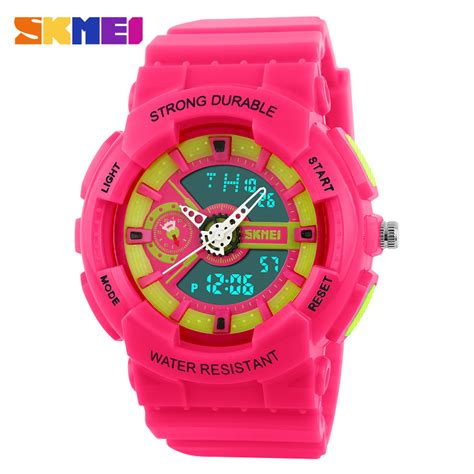 Skmei Multifunctional Fashion Water Resistant 1132 skmei s fashion sports watches back light 5bar water resistant alarm student digital