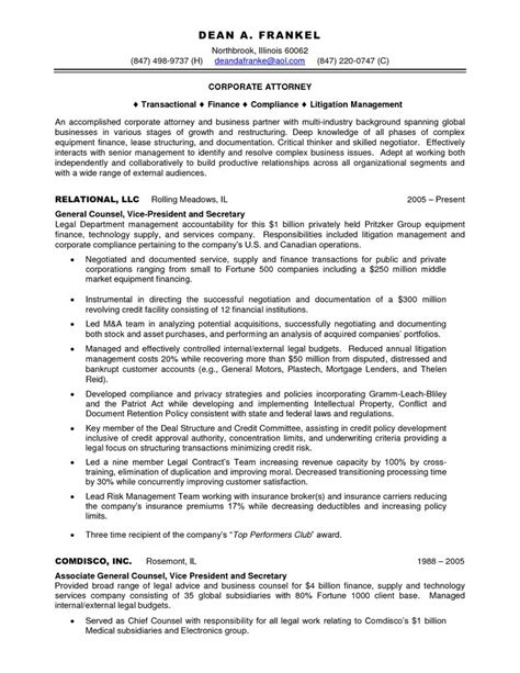 Bilingual Attorney Sle Resume 7 best best attorney images on resume exles search and career