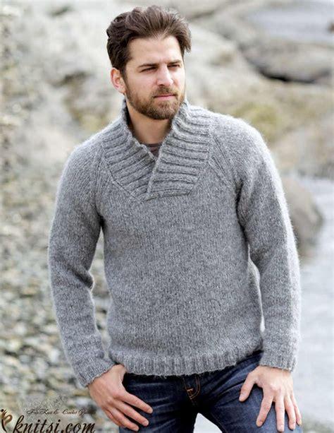 easy knit sweater pattern for man men s raglan jumper knitting pattern