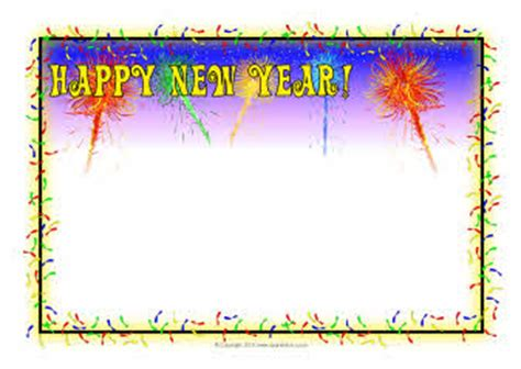 new year page border sparklebox happy new year a4 page borders sb3590 sparklebox