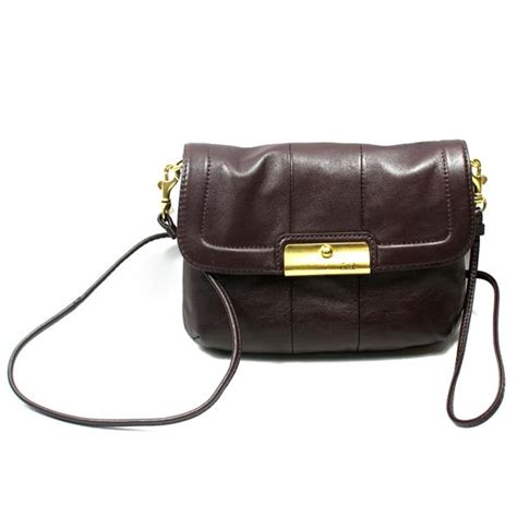 swing bag coach kristin leather small crossbody swing bag 45128
