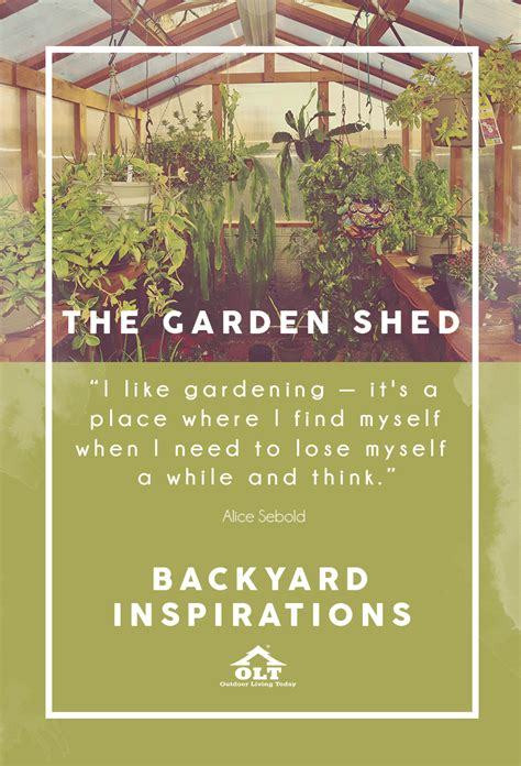 backyard inspirations backyard inspirations the garden shed