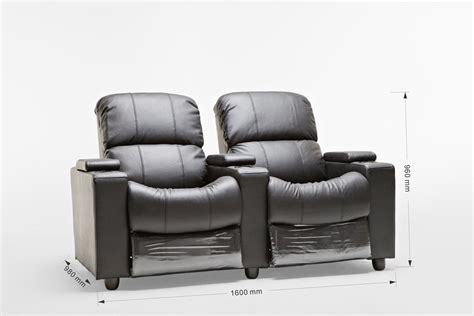 2 seater recliner lounge sophie brand new black leather 2 seater recliner home