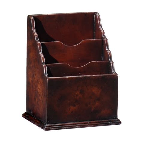 Charles Upholstery by Buy Small Mahogany Letter Rack Swanky Interiors