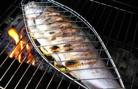 Fly Grill grilled garlic trout the fly rod shop