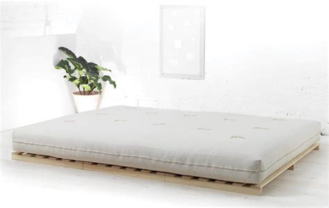 A Futon Bed by Low Futon Bed Solid Pine Bed Company